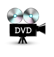 Disc DVD vector image vector image