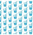 drink pattern background vector image vector image