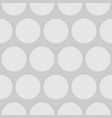grey polka dots background or comic pattern vector image