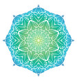 mandala with a gradient background for your vector image vector image