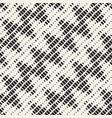 repeating rectangle shape halftone modern lattice vector image vector image