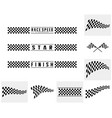 set race flag design concepts icon speed flag vector image vector image