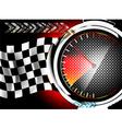 Speedometer background vector image vector image