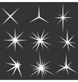 Sparkle lights Stars - vector image