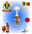 Belgium Collection vector image vector image