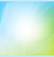 blue and green dynamic background vector image