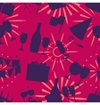 Celebration seamless pattern vector image