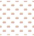 fresh eggs pattern seamless vector image vector image