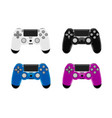 game controller in joystick vector image vector image
