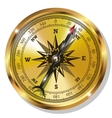 Golden Compass vector image