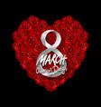Modern valentines day or 8 march background