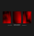 set of trendy gradient backgrounds for cover vector image