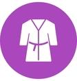 Towel Robe vector image
