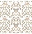 Vintage Damask Pattern ornament vector image vector image