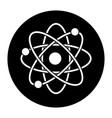 atom scheme molecule particle science school vector image