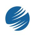 Faster Future Logo vector image vector image