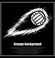 grunge black waterpolo background vector image vector image