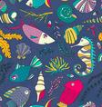 Ocean Pattern vector image vector image