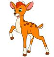 Young cartoon deer