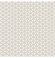 Seamless Black and White Circles Halftone vector image
