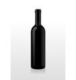 Bottle of wine blank vector image vector image