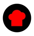 Chef cap sign vector image vector image