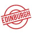 Edinburgh rubber stamp vector image