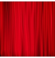 Red curtain on theater EPS 10 vector image vector image