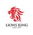roar logo designs vector image vector image