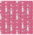 seamless pattern with arrows modern ethnic print vector image