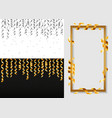serpentine coil banner set realistic style vector image vector image