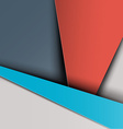 Material Design Retro Background vector image