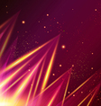 Abstract shiny background with triangles vector image