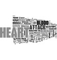 a heart to health talk text word cloud concept vector image vector image