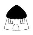 Hut icon image vector image