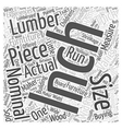 lumber for furniture Word Cloud Concept vector image vector image