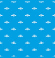 nature pattern seamless blue vector image vector image