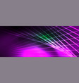 neon light lines concept abstract vector image