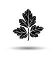 parsley icon vector image vector image