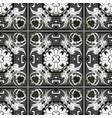 vintage floral seamless pattern greek vector image vector image