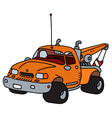 Breakdown service vehicle vector image vector image