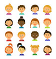 cartoon characters style flat vector image vector image
