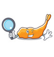 detective tempura character cartoon style vector image