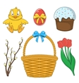 Easter holiday collection vector image