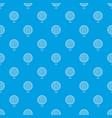 golf ball pattern seamless blue vector image vector image