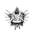 guitars star vector image vector image