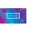 happy valentine background vector image vector image