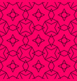 tile pattern or pink and black background vector image vector image