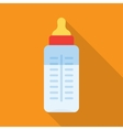 Baby milk bottle vector image vector image