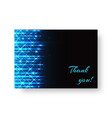 bright booklet with neon light vector image vector image
